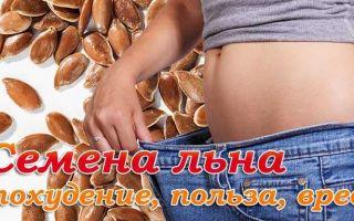 Семя льна: польза, вред, противопоказания