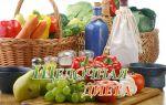 Ощелачивание организма, список щелочных продуктов