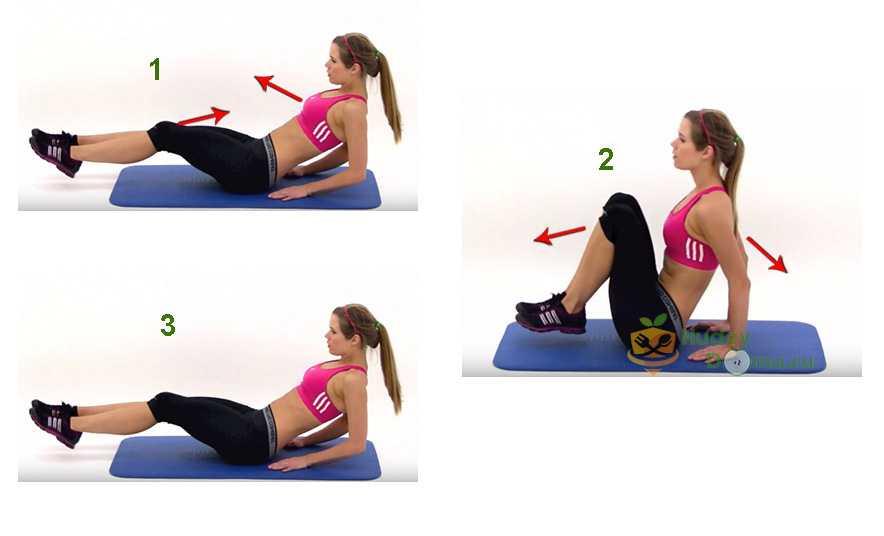 Фото 7: очень эффективное упражнение для похудения живота
