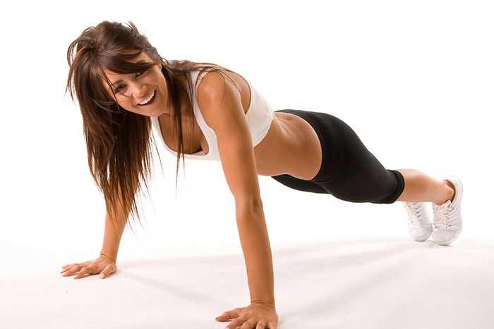 Упражнение для удержания спины