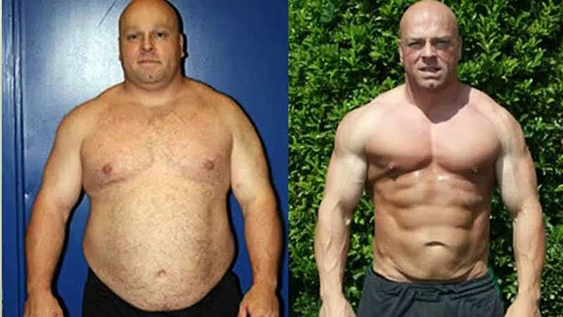 Результаты похудения на белковой диете