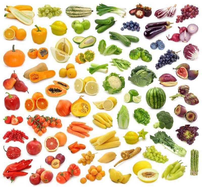 Овощи и фрукты с отрицательной калорийностью