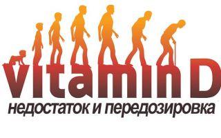Недостаток и передозировка витамина Д
