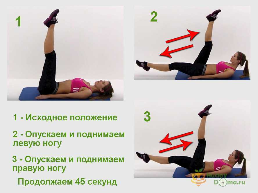 Упражнения для похудения в области талии